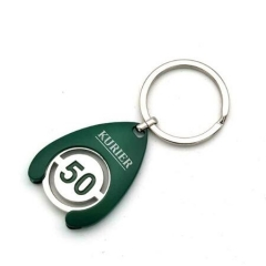Promotional Shopping Trolley Keyrings